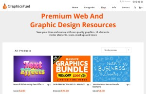premium web and graphic design resources