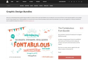 monthly design bundle