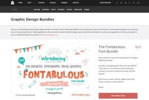 monthly design bundle