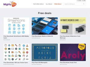 MightyDeals Web Freebies